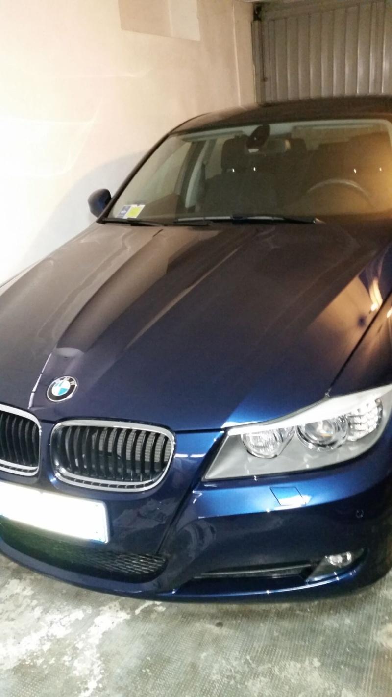 Eliminare macchie e aloni su cofano BMW 320d Image016
