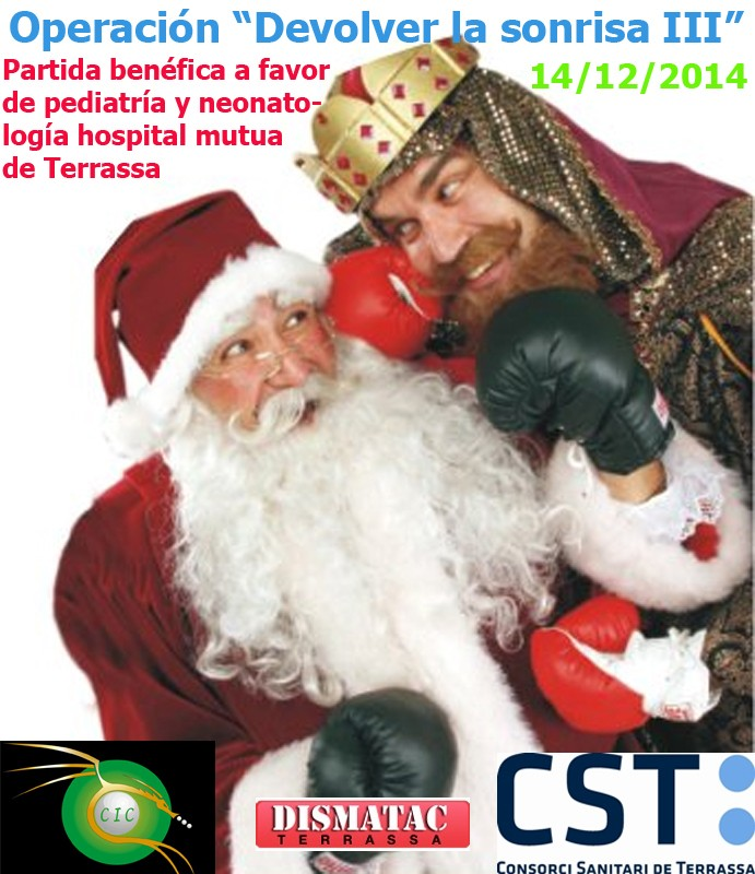 Partida BENEFICA para el Hospital de Terrassa 14/12/2014 Benefi10