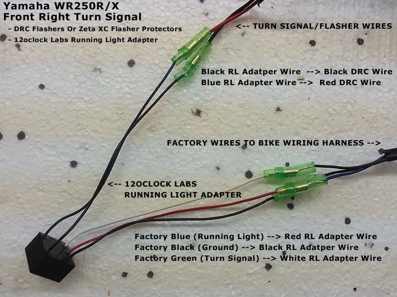 need help wiring drc front blinkers right_10