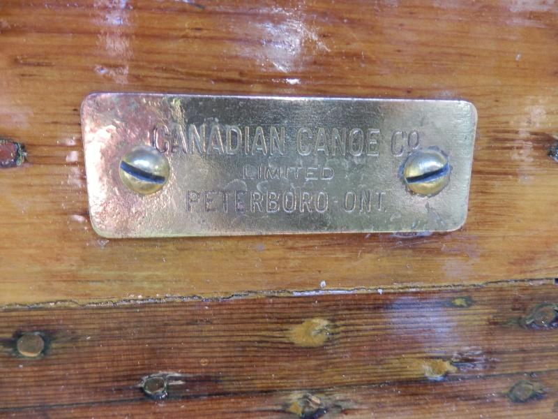 [Vends] Canadian Canoe Company années 50 restauré P9270811
