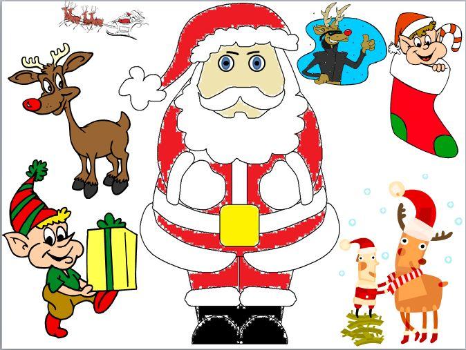 Santa Drawing Contest Lux_sa11