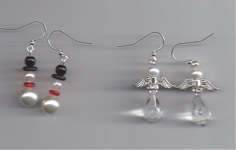 Today's earrings Snowma10