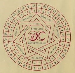Sceau et alphabet de Merlin  Wizard10