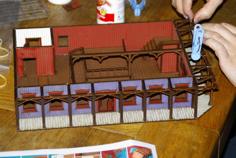 "Projet Table Western chez ""La Mandragore"" Rdc10"
