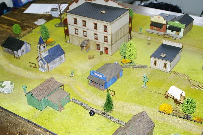 "Projet Table Western chez ""La Mandragore"" Table10"
