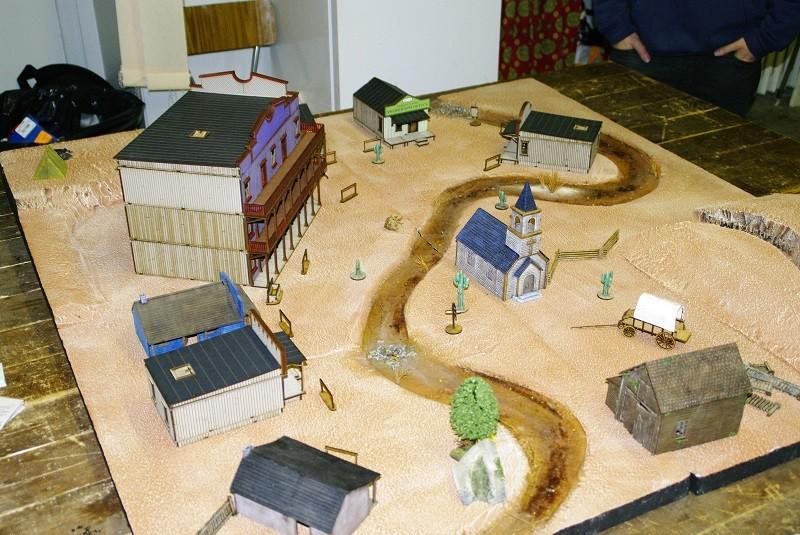 "Projet Table Western chez ""La Mandragore"" Table310"