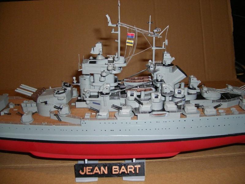 Cuirassé Jean Bart a 1/400 de Heller Imgp0733