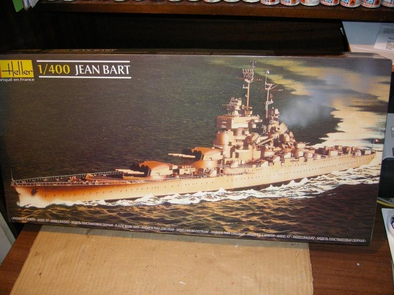 Cuirassé Jean Bart a 1/400 de Heller Imgp0736