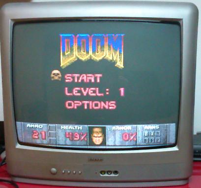 Aide pour brancher un Genesis 32X (US) sur une MegaDrive 1 RGB (FR)  Doommd10