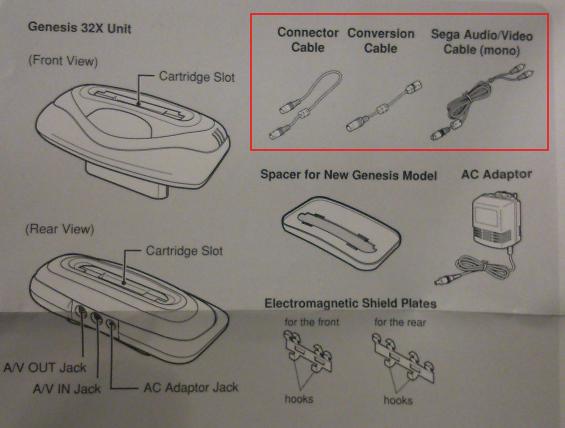 Aide pour brancher un Genesis 32X (US) sur une MegaDrive 1 RGB (FR)  Dsc_0310