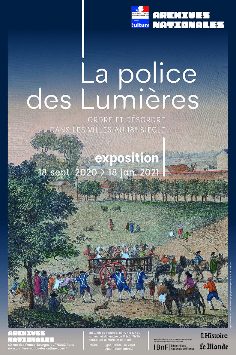 Exposition La Police des Lumières, Archives Nationales Affich11