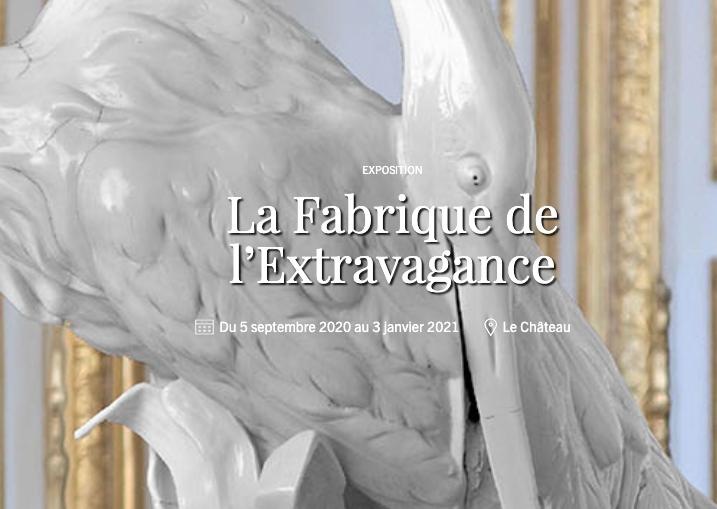 Fabrique de l'Extravagance, château de Chantilly, exposition Capt1227