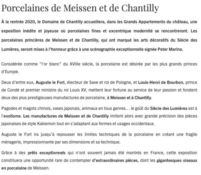 Fabrique de l'Extravagance, château de Chantilly, exposition Capt1229