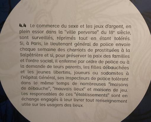Exposition La Police des Lumières, Archives Nationales Capt1241