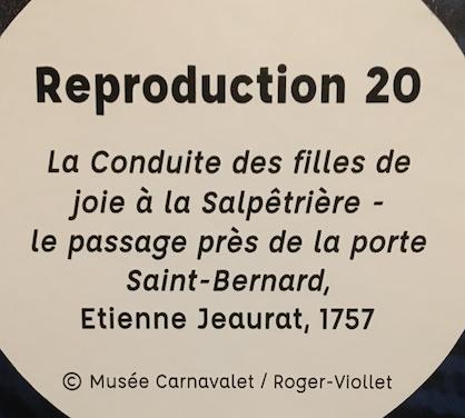 Exposition La Police des Lumières, Archives Nationales Capt1245
