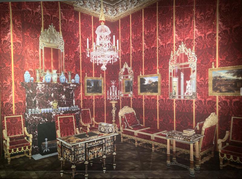 Expo, La princesse Palatine, la plume et le Soleil, Avelines Capt1295