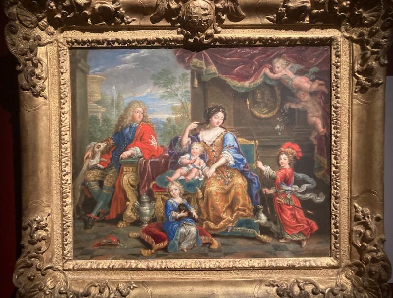 Expo, La princesse Palatine, la plume et le Soleil, Avelines Capt1300