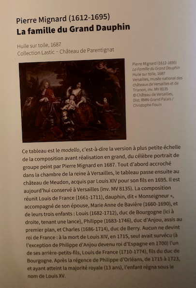 Expo, La princesse Palatine, la plume et le Soleil, Avelines Capt1301