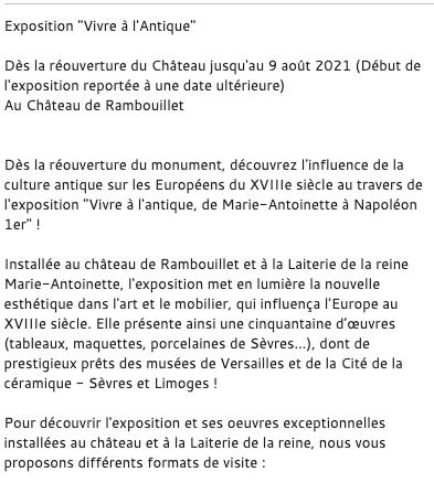 Expo Vivre à l'Antique, Rambouillet  Capt1541