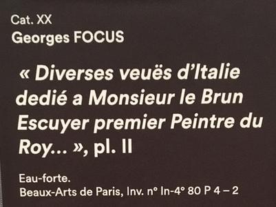 Georges Focus : La folie d'un peintre de Louis XIV Captu263