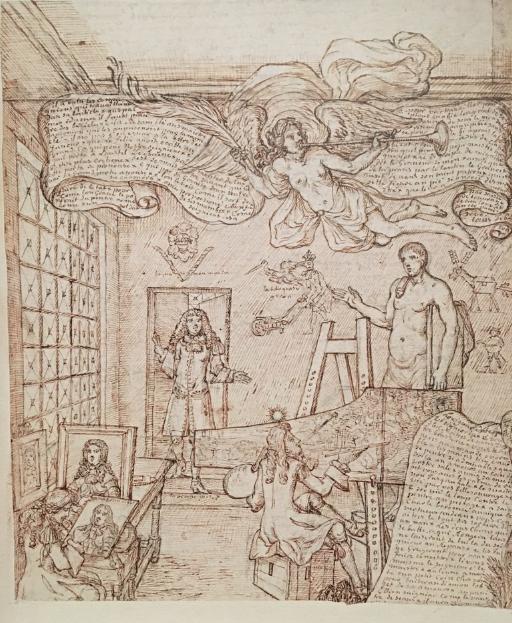 Georges Focus : La folie d'un peintre de Louis XIV Captu267