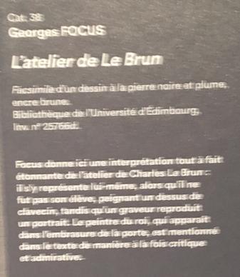 Georges Focus : La folie d'un peintre de Louis XIV Captu268