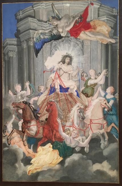 Georges Focus : La folie d'un peintre de Louis XIV Captu270