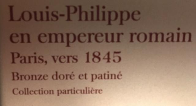 Fontainebleau, Exposition Louis-Philippe en 2018 Captu377