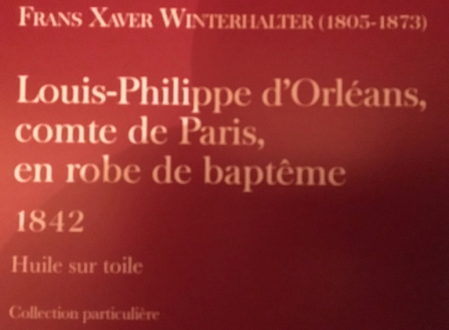 Fontainebleau, Exposition Louis-Philippe en 2018 Captu379