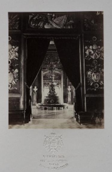 Exposition Les derniers feux du palais de Saint-Cloud  Captu545