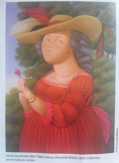 Conciergerie : Marie-Antoinette métamorphoses d'une image Captu796