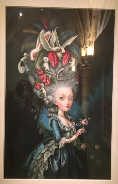 Conciergerie : Marie-Antoinette métamorphoses d'une image Captu839