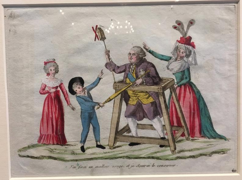 Vizille : Exposition Heurs et malheurs de Louis XVII Captur10