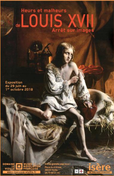 Vizille : Exposition Heurs et malheurs de Louis XVII Captur21