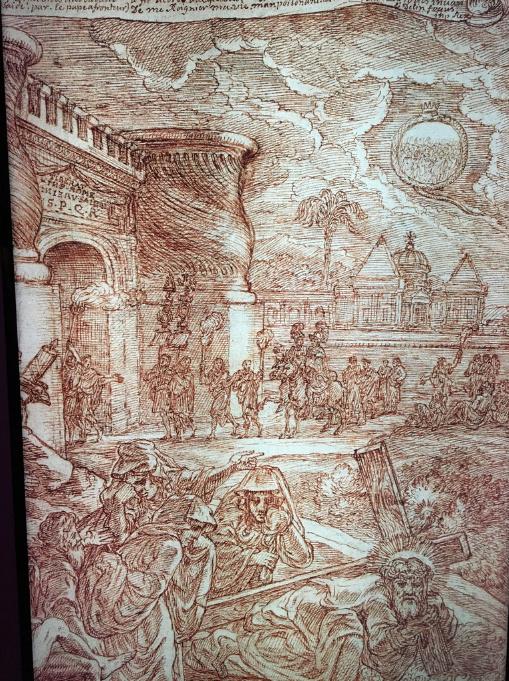 Georges Focus : La folie d'un peintre de Louis XIV Captur22