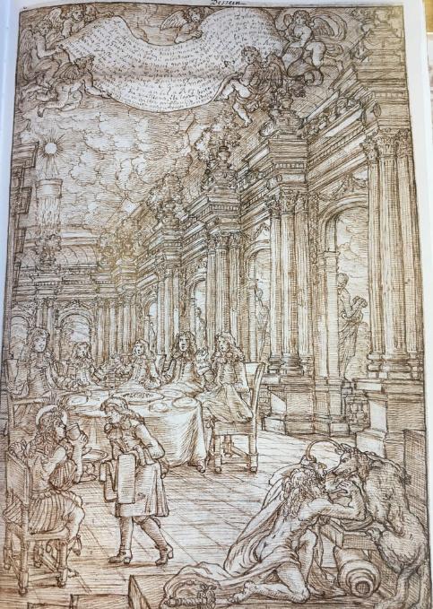 Georges Focus : La folie d'un peintre de Louis XIV Captur23