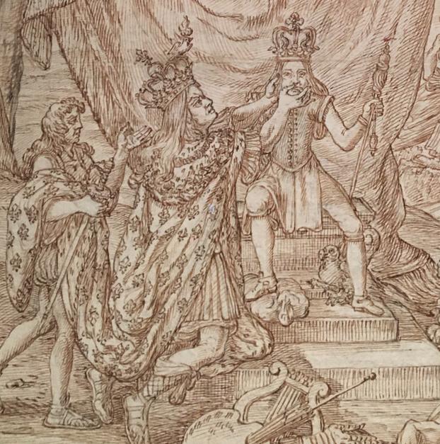 Georges Focus : La folie d'un peintre de Louis XIV Captur24