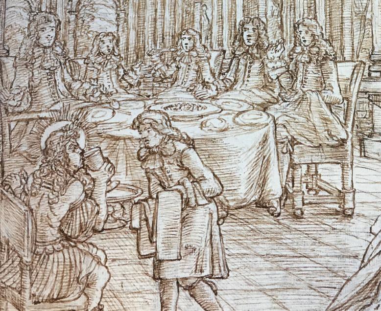 Georges Focus : La folie d'un peintre de Louis XIV Captur25