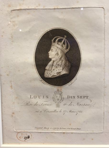 Vizille : Exposition Heurs et malheurs de Louis XVII Captur64