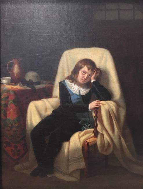 Vizille : Exposition Heurs et malheurs de Louis XVII Captur67