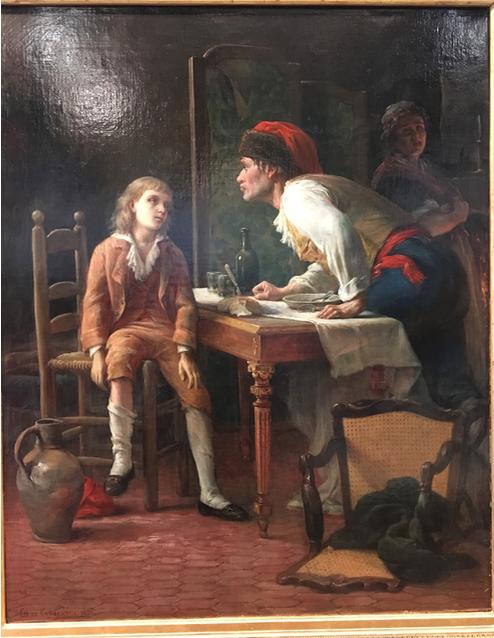 Vizille : Exposition Heurs et malheurs de Louis XVII Captur71