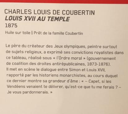 Vizille : Exposition Heurs et malheurs de Louis XVII Captur72