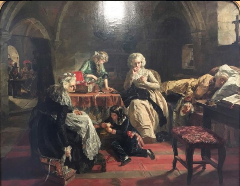Vizille : Exposition Heurs et malheurs de Louis XVII Captur77