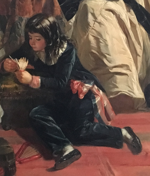 Vizille : Exposition Heurs et malheurs de Louis XVII Captur80