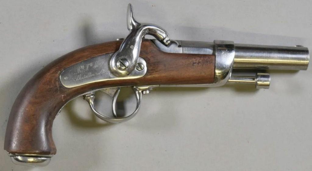 LES ARMES portatives DE LA GENDARMERIE   1833/1836  avec frette de bouche  183610