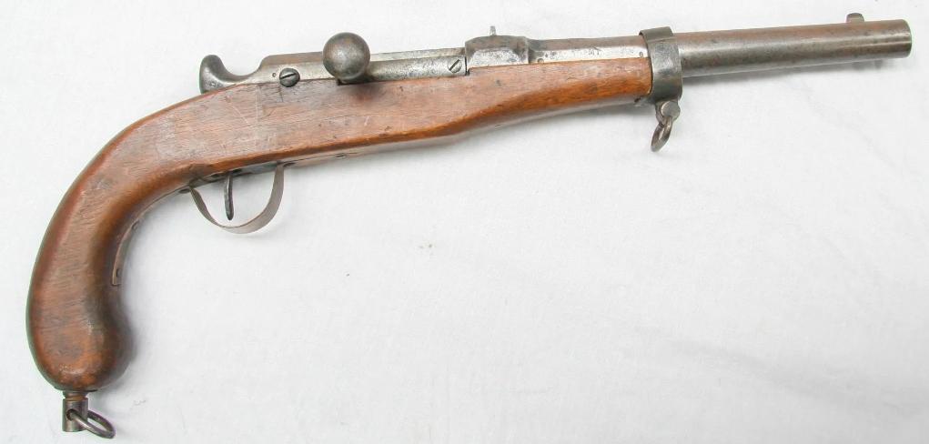 Pistolet Chassepot / Simple curiosité  212
