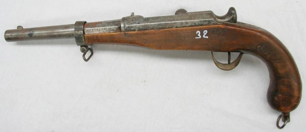 Pistolet Chassepot / Simple curiosité  312