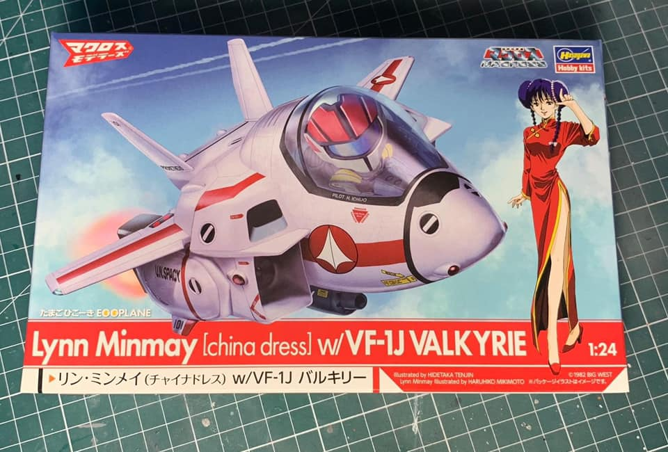 Macross Egg-Plane Hasegawa : VF-1A Production Type et VF-1S super valkyries 01105