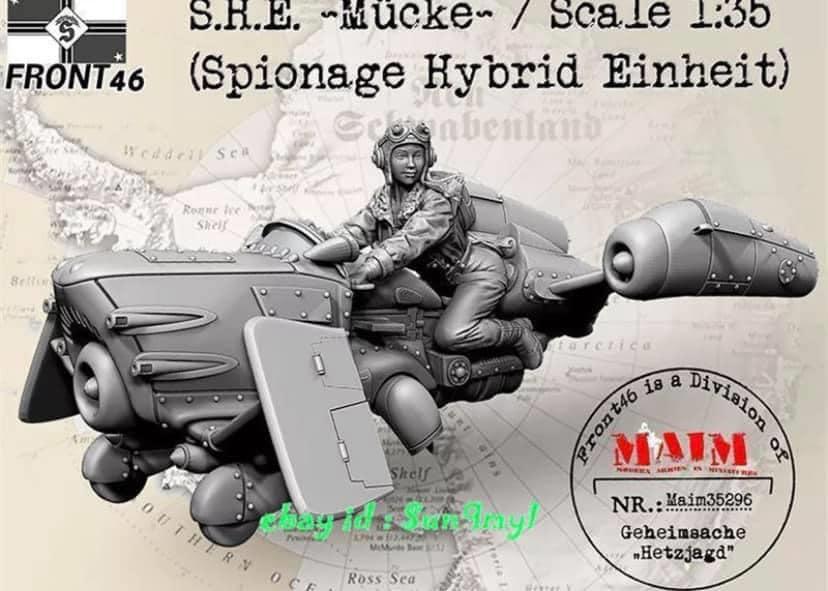 engin resine S.H.E. ~Mücke~ (Spionage Hybrid Einheit) 1/35  01120