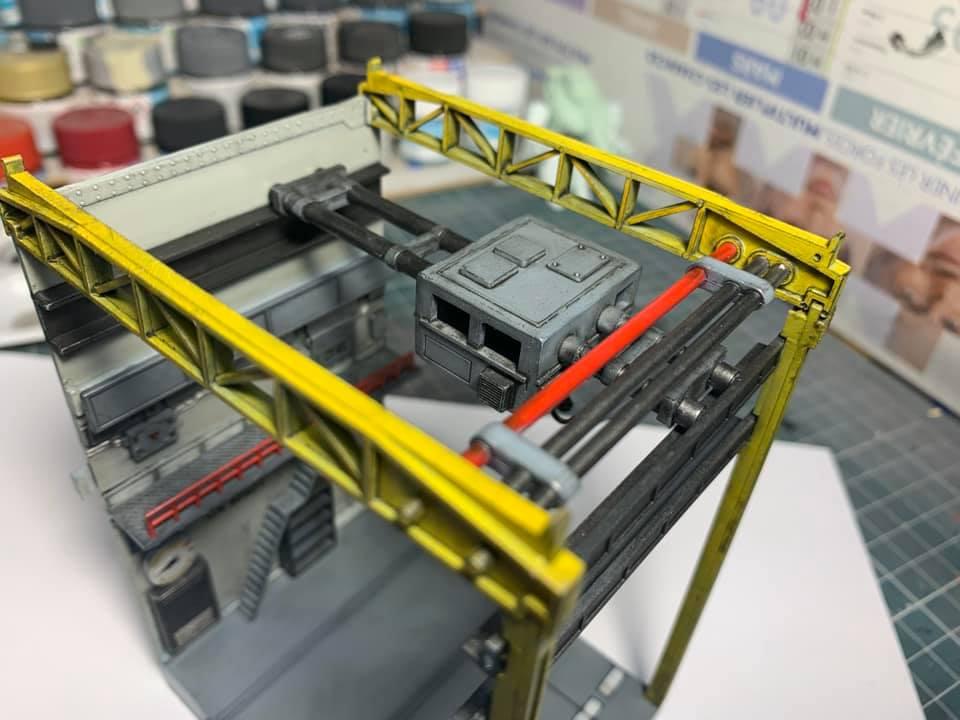 Diorama vintage Macross Factory 04 0184